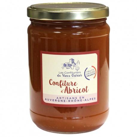 Confiture Abricot artisanale - Vente en ligne confiture - Confitures du Vieux Chérier - Loire - Rhône Alpes