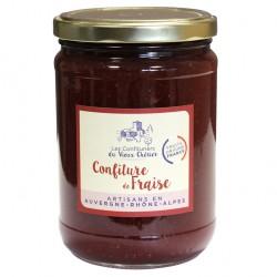 Confiture de Fraise artisanale - Vente en ligne confiture - Confitures du Vieux Chérier - Loire - Rhône Alpes