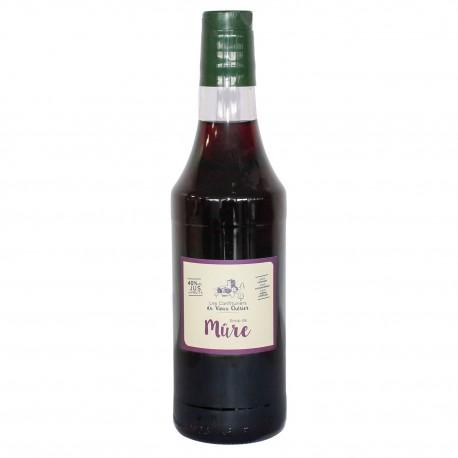 Sirop de Mûre - Acheter sirop artisanal - Confiture Vieux Chérier - Rhône Alpes